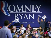 Romney's Vice Presidential Pick Paul Ryan Campaigns In Virginia