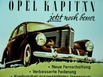 Opel Kapitän, Werbung, Automobil