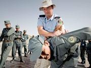 Polizei, Afghanistan, ddp