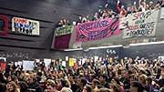 Wien Audimax Studenten Proteste