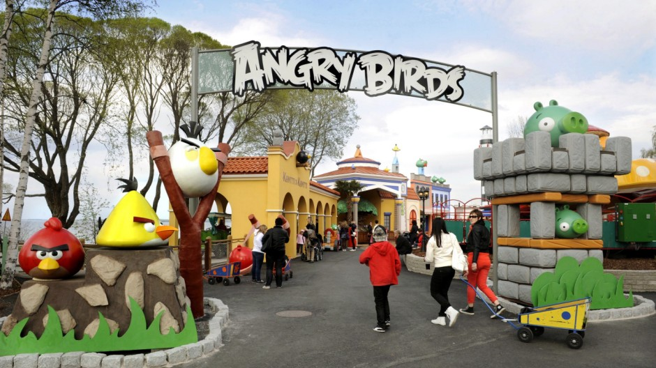 Angry Birds theme park in Tampere, Finland