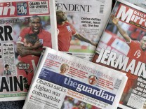Britische Zeitungen - Titel nach WM-Spiel gegen Slowenien
