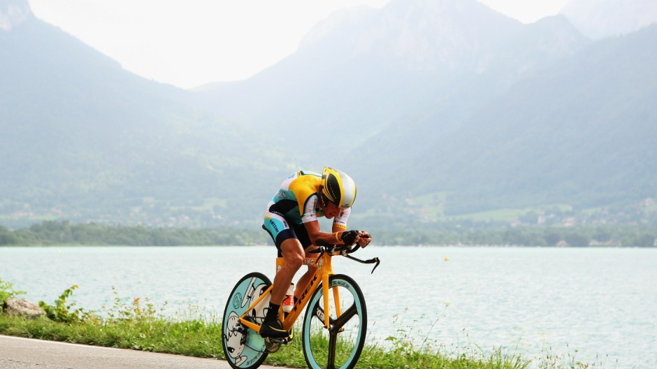 FILE: Lance Armstrong Stripped of Tour de France Titles And Banned From Cycling Tour de France 2009 Stage Eighteen - Individual Time Trial