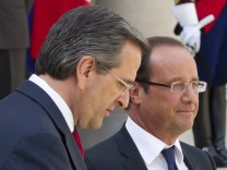 Francois Hollande, Antonis Samaras