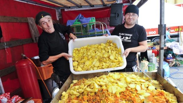 Slow Food Demo gegen Lebensmittelverschwendung