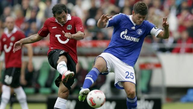 Bundesliga Schalke verpasst Sieg in Hannover