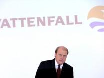Pressekonferenz Vattenfall - Hatakka