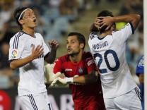 Mesut Ozil, Gonzalo Higuain, Miguel Angel Moya