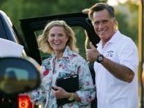 Mitt Romney USA Wahlkampf
