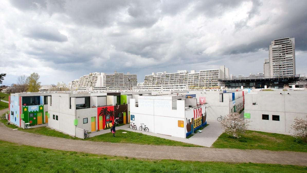 Bungalows Im Münchner Olympiapark Paradies Auf Den Zweiten Blick