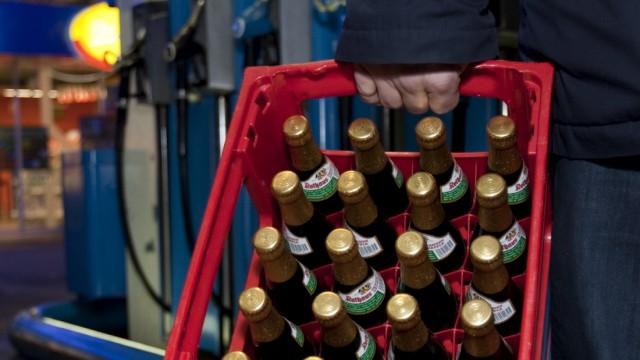 Verkaufsverbot fuer Alkohol an Tankstellen