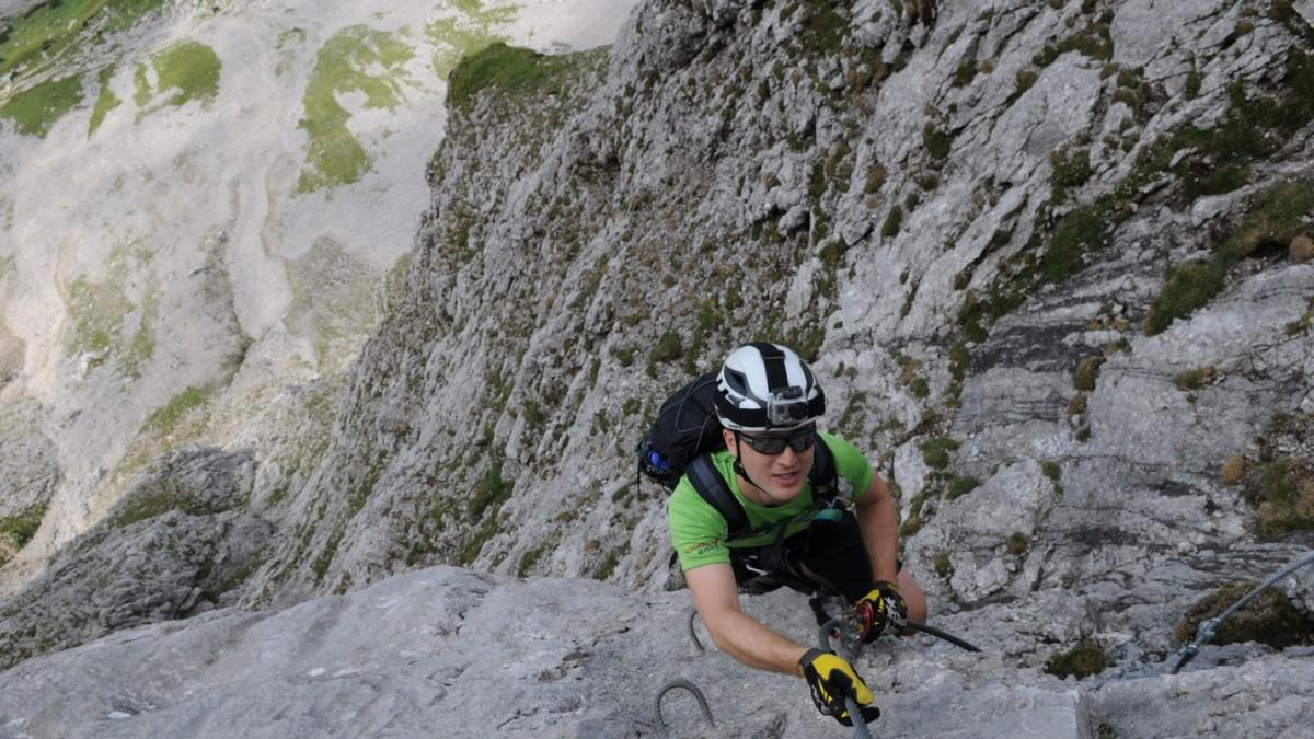 Klettersteig Leopoldsteinersee : Klettersteige auf die rax