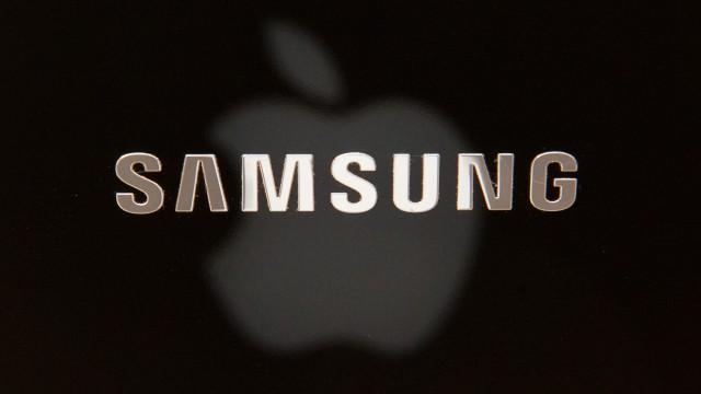 Streit zwischen Apple und Samsung