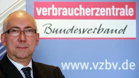 Verbraucherschützer Gerd Billen; AP