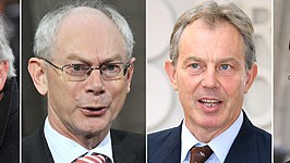 Jean-Claude Juncker, Herman Van Rompuy, Tony Blair, Jan Peter Balkenende