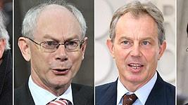 Jean-Claude Juncker, Herman Van Rompuy, Tony Blair, Jan Peter Balkenende