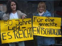 Protest von Contergan-Opfern