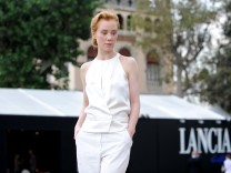Celebrities At The Lancia Cafe: Day 3 - The 69th Venice Fim Festival