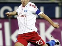 Bericht: Van der Vaarts Rueckkehr zum HSV perfekt