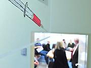 Impfung Schweinegrippe, dpa