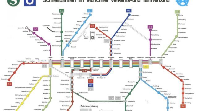Erster Mvv Verbundfahrplan So Fuhren 1972 Die Bahnen