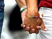 Lesbisch Hände Abschlussball