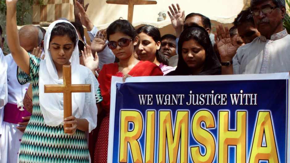 Pakistani Christians demand release of Rimsha