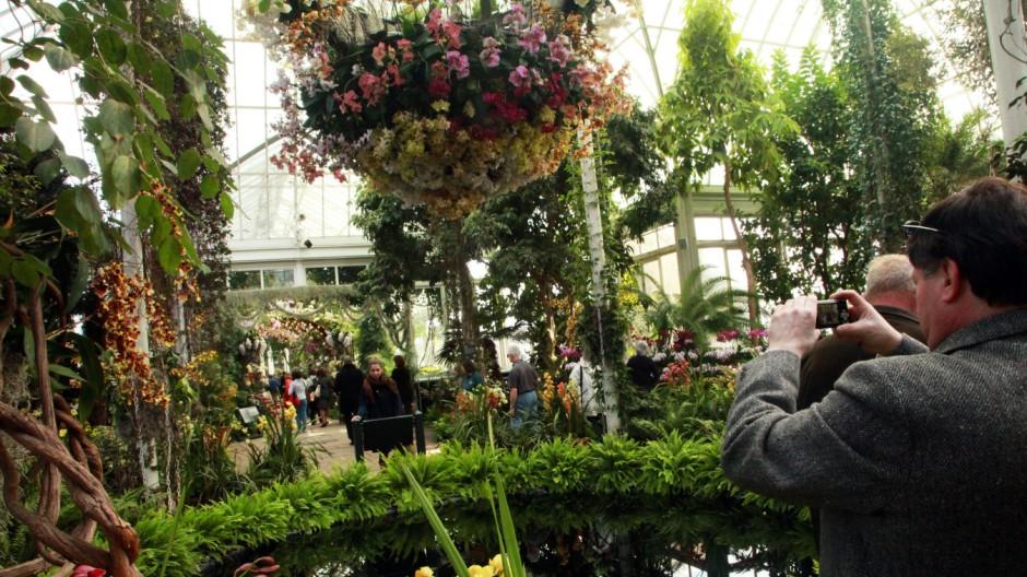 New York Nordamerika Botanischer Garten Bronx Städtereise