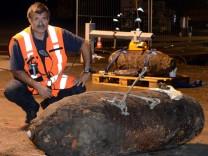 Zwei Fliegerbomben in Hamburg gefunden