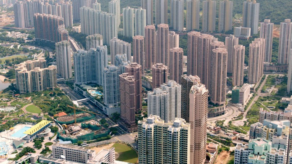 Wolkenkratzer in Hongkong