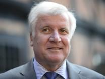 Ministerpraesident Seehofer besucht Niedersachsen