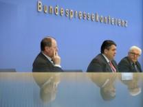 SPD praesentiert Positionspapier 'Der Weg aus der Krise - Wachstum und Beschaeftigung in Europa'