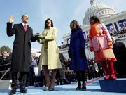 Barack Obama US-Präsident Amtseid, AP
