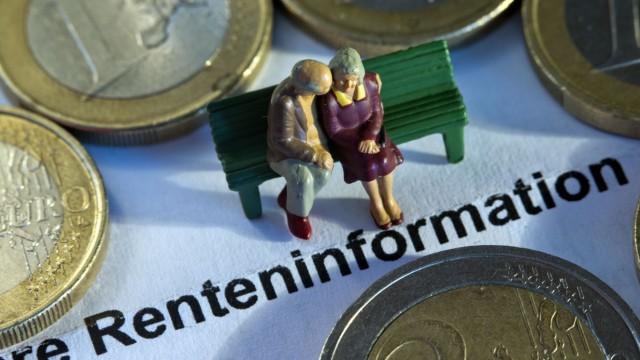 Rente Altersvorsorge Rentenversicherung Riester Rürup Altersbezüge Altersarmut
