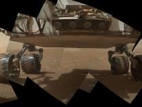 "Selbstporträt des Nasa-Rovers ""Curiosity"""