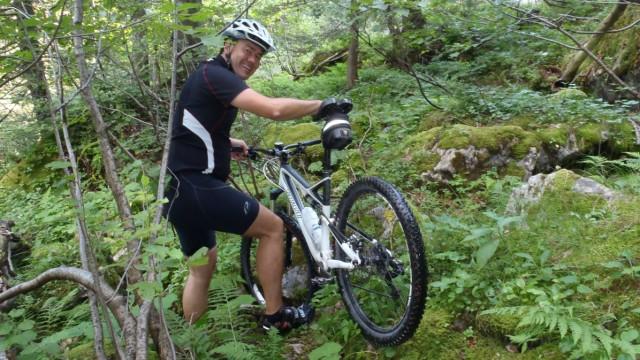 Mountainbiketour Amden Kanton St. Gallen Schweiz