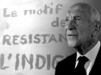 Lyriker und ehemalige Résistancekämpfer Stéphane Hessel