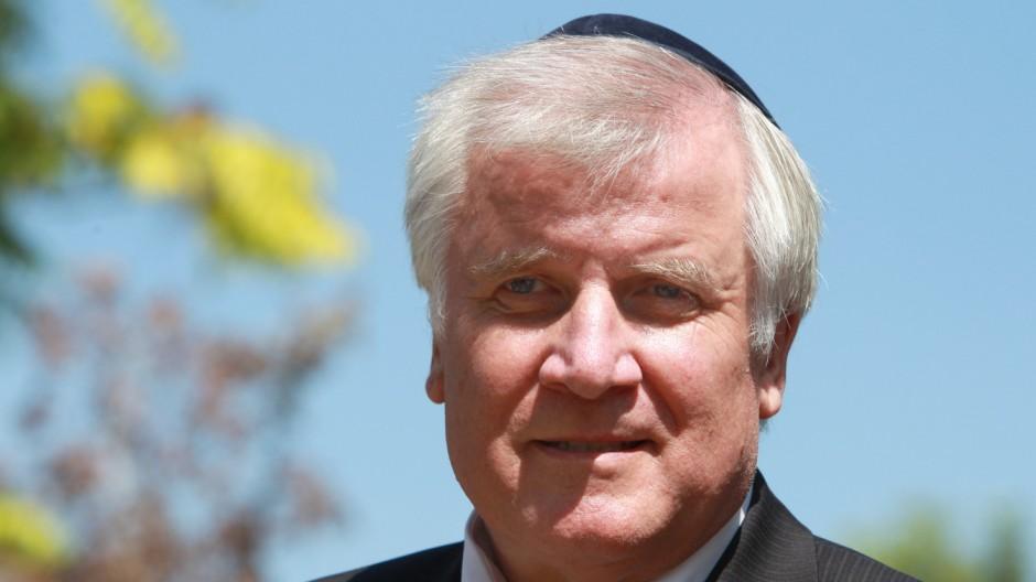 Bundesratspräsident Horst Seehofer in Israel