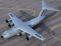 Der Militärtransporter A400M