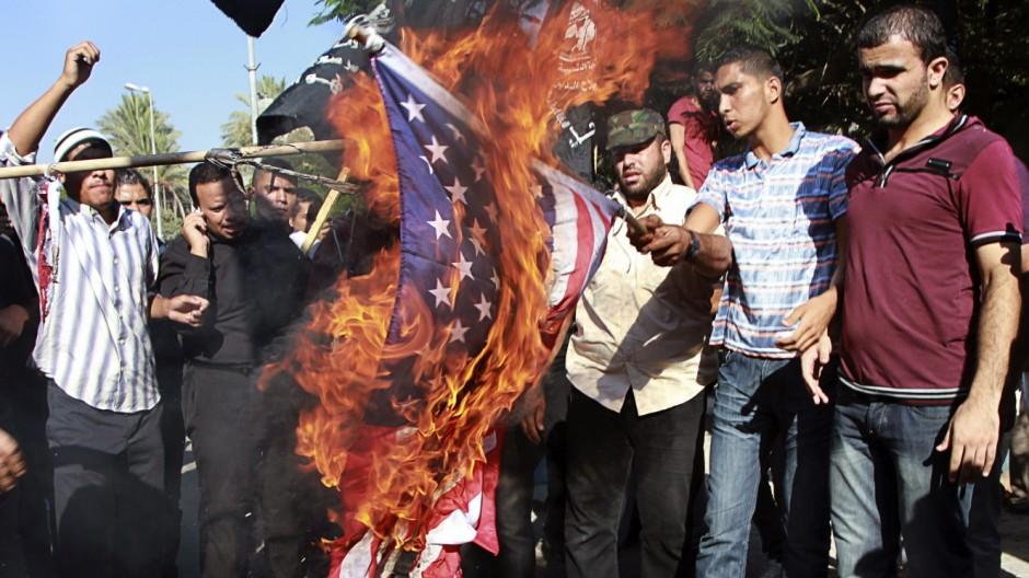 Libyen nach Gaddafi Tod des US-Botschafters in Libyen