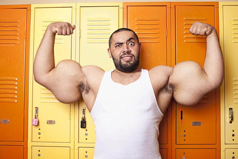 Guinness-Buch der Rekorde - Mann mit Monstermuskeln - Panorama ...