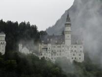 Schloesserverwaltung ermittelt auf Schloss Neuschwanstein