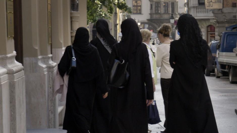 Araberinnen in München, 2006