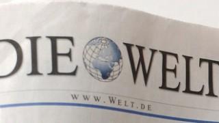 Tageszeitung Die Welt