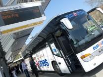 Fernbus Fernbus-Reise Fernbus-Linie Verkehr