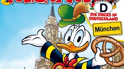 Deutschlandreise der Ducks