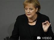 Bundeskanzlerin Angela Merkel CDU Regierungserklärung, Reuters