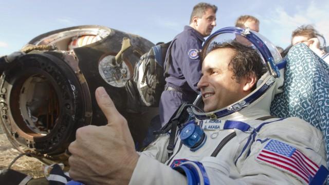 Soyuz Landing near the town of Arkalyk