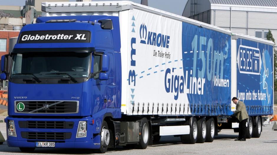 Lastwagen 'Gigaliner'