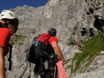 Bergsteigen Watzman Ostwand Berchtesgadener Land